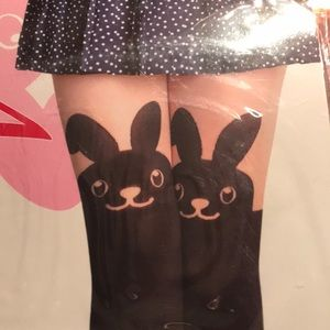 Easter I s come big! Cute bunny knee highs